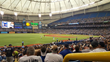 Tropicana Field on Opening Day (Photo courtesy of GameTime)