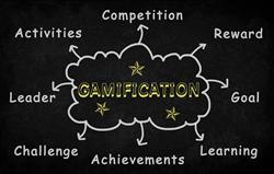 Gamification infographics