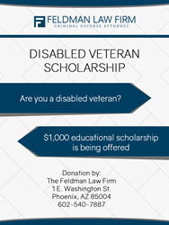 Phoenix Lawyer Announces Scholarship for Disabled Veterans