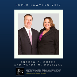 DuPage County Attorneys Andrew P. Cores and Wendy M. Musielak