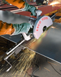 Esco Tool's Pneumatic Saw & Clamp System Cuts Steel Plate Without Heat Affect Zone