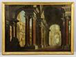 Giovanni Paolo Panini (Italian, 1691-1765), view of Roman ruins