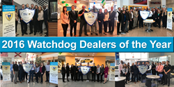 2016 Watchdog Dealers of the Year