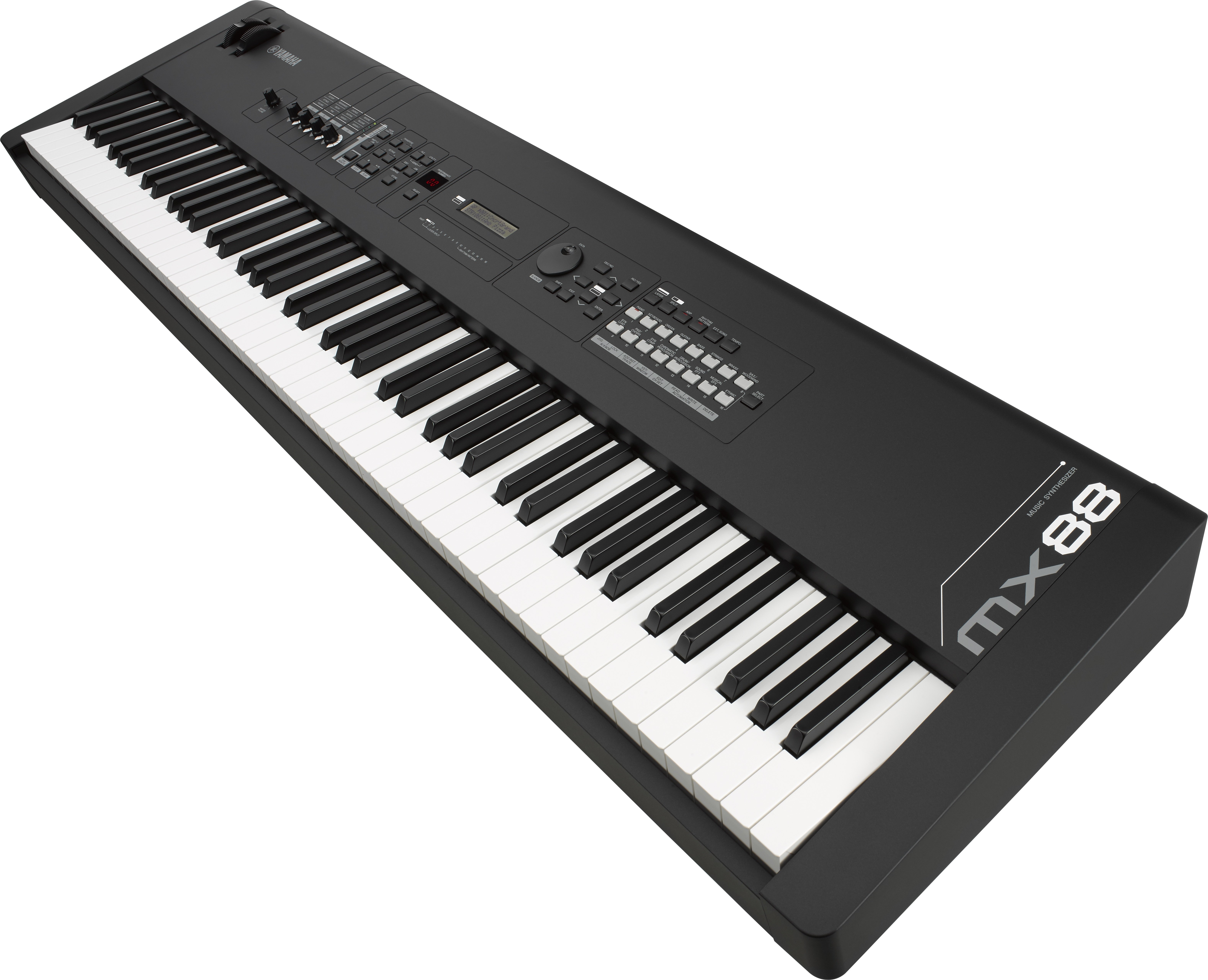 Yamaha expands mx series with 88 key weighted action mx88 for Yamaha full size keyboard with 88 keys
