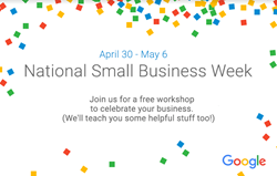 Free digital marketing workshop with Google