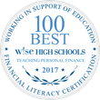 5th Annual 100 Best W!Se High Schools Teaching Personal Finance Rankings Announced