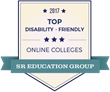 SR Education Group Publishes Report Of 47 Online Colleges Providing The Strongest Support For Students With Disabilities