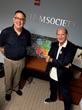 Autism Society of America CEO Scott Badesch and Autism Guardian Angels Founder David Luber met this week at ASA office in Bethesda, Maryland