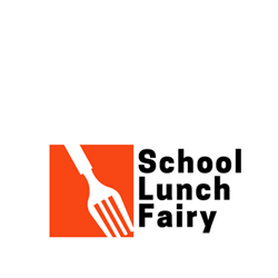 School Lunch Fairy Logo