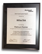 MilesTek Receives Rockwell Collins Platinum Premier Award
