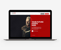 Award-winning website design and digital campaign for VanArts
