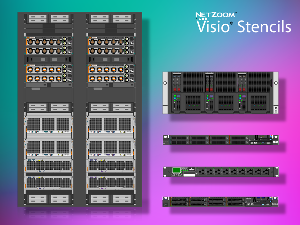 NetZoom™ Visio® Stencils Library Updated for Data Center and