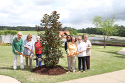 St. Catherine's Village tree planting