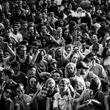 Crowd reacts during a performance at the Twilight Concert Series in Salt Lake City. - David Vogel Photography