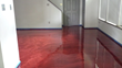 red wine metallic 3d floor
