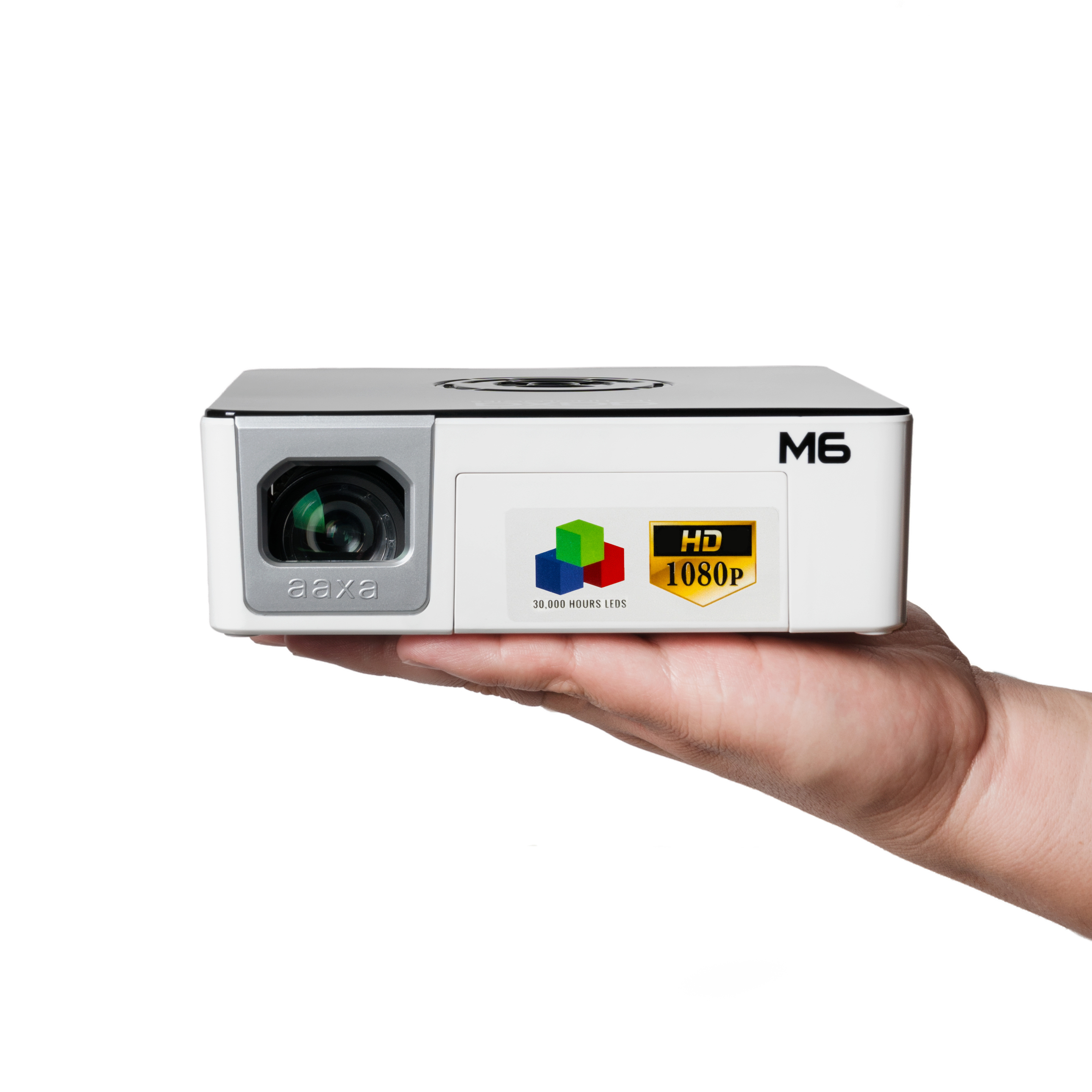 Aaxa technologies introduces the m6 a native 1080p for Micro projector 1080p