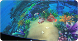 Amazing visuals displayed by Boxer 4K30 projectors in the 3D dome theater