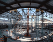 Mabey Towers Supported Domed Roof for Detroit Red Wings' Arena