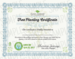 Plant Therapy Earth Day Tree Planting Certificate