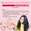 Premierlacewigs.com: Share A Group Photo With Your Mum To Win A Free Lace Wig For Mother's Day