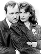 "Joan Severance and Kevin Spacey, ""Wiseguy"" TV series"