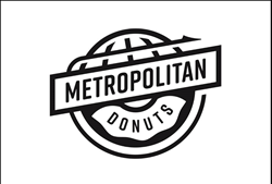 Metropolitan Donuts logo designed by Shatterbox