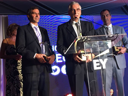 Federico, Luis and Alex Robio's acceptance speech at the Entrepreneur of the Year gala