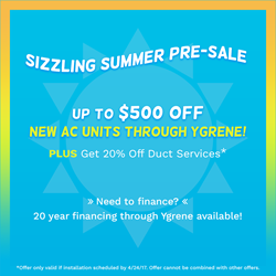 All Year Cooling Pre-Sale Coupon