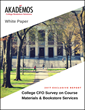 New Akademos White Paper Provides Valuable Insights From College CFOs on Textbooks, Course Materials and the Future Role of the College Bookstore