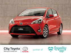 City Toyota partner of Loyalty app