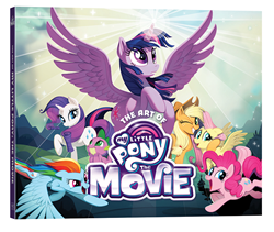 Celebrate Friendship and Adventure in the lavish hardcover THE ART OF MY LITTLE PONY: THE MOVIE, available August 29th!