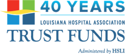 LHA Trust Funds 40 Year Anniversary Logo