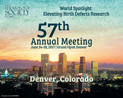 Teratology Society Annual Meeting, Denver CO