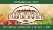 New Season, Fresh Start - West Frederick Farmers Market Moves to The Great Frederick Fairgrounds