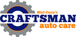 Craftsman Auto Care features state-of-the-art repair equipment, including the latest diagnostic tools, alignment machines, tire changers and balancers, matched with ASE-certified Master technicians.