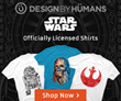 Design By Humans Adds New Designs to their Star Wars Store to Celebrate Star Wars Day on May the 4th