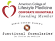 Functional Formularies Joins ACLM's Lifestyle Medicine Corporate Roundtable as Producer of Food-as-Medicine Clinical Nutrition Solutions