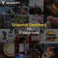 Snapchat Geofilters for Local by Brandify