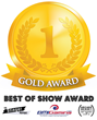 2017 Best Of Show Arcade Machine Awards - Gold Medal Logo