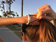 New Startup Launches Fashionable, Functional Hair Tie Bracelet for Active Women