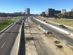The Midtown Express project will increase capacity and reconstruct portions of three highways.