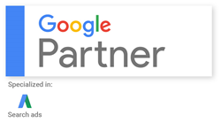 Google Partner - Medical Consulting Group Badge
