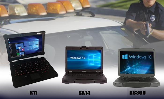 Law Enforcement Agencies Adopting Durabook Rugged Laptops