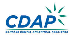 Logo for the Compass Digital Analytical Predictor (CDAP) from Powershelf
