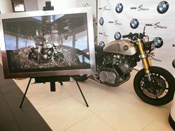 This Classified Moto owned by Norman Reedus (Daryl Dixon) will be given away at BimmerCon