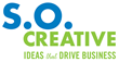 S.O. CREATIVE logo, a houston-based branding and marketing agency,