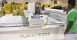 TUKAcut automatic cutting machine installed at Brandix production factory.