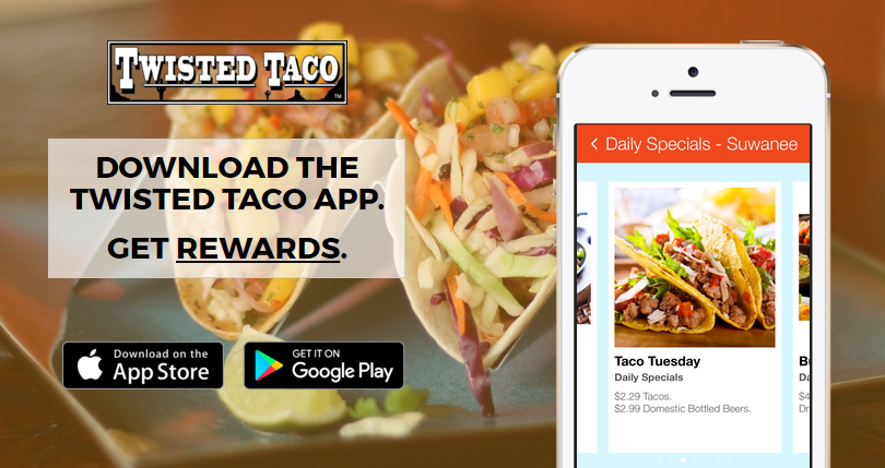 Twisted taco releases new mobile app with mobile rewards program forumfinder Image collections