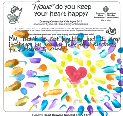 san diego plumbing company chooses healthy heart drawing contest winners