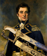 Rare and superb cased 100 Guinea Lloyd's Patriotic Presentation Sword for a hero of the Battle of Trafalgar, Capt. William G. Rutherford, realized $270,250.